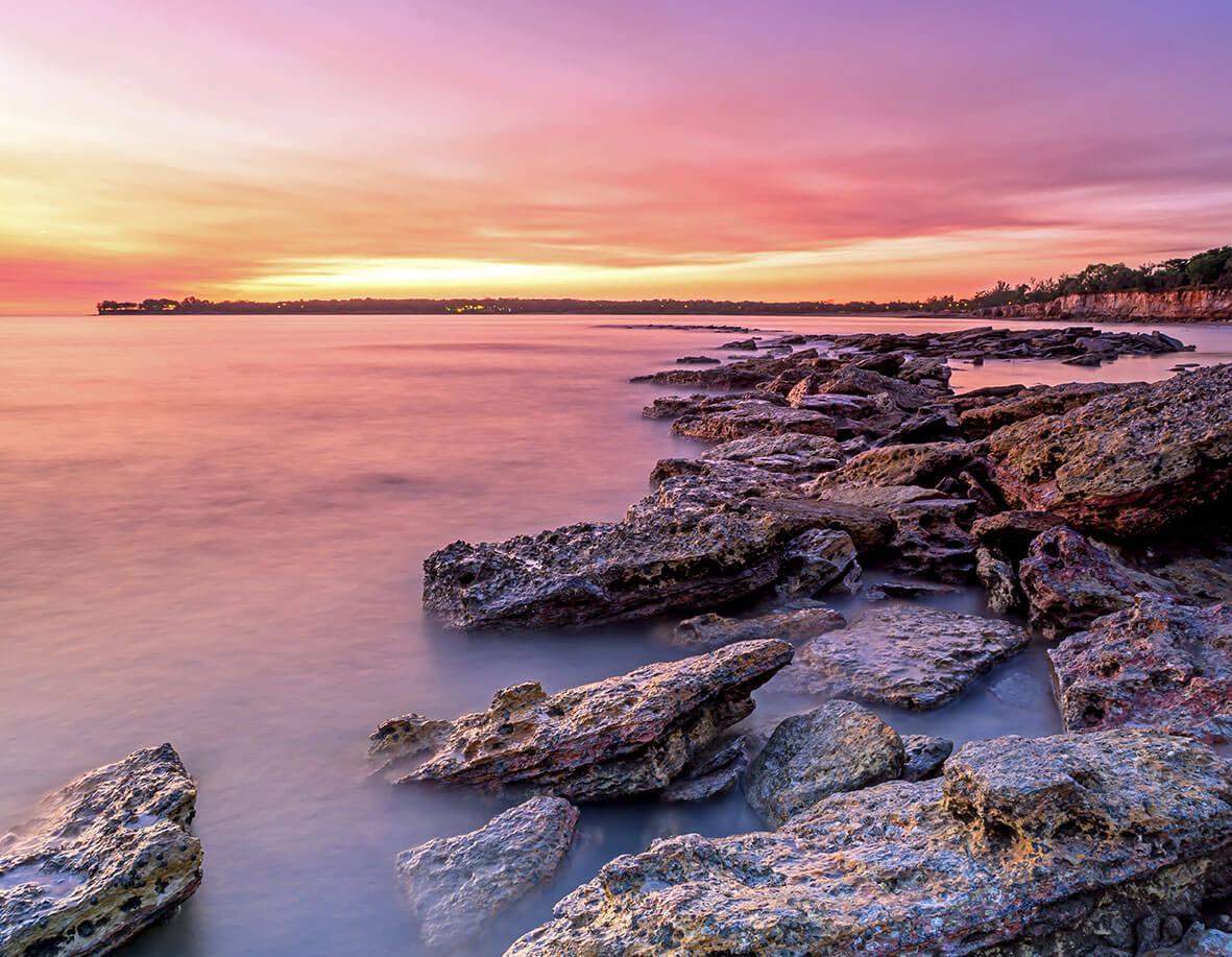 Darwin coast
