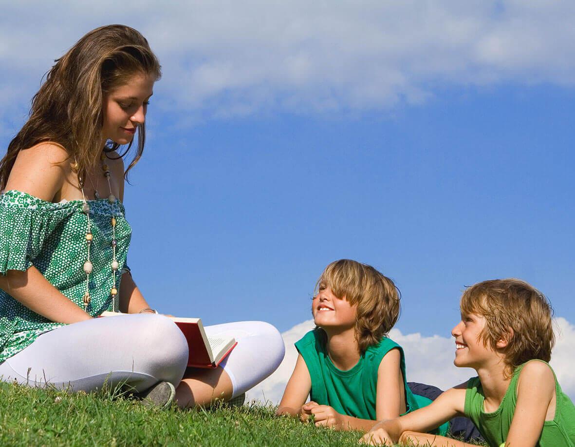 Au pair with kids
