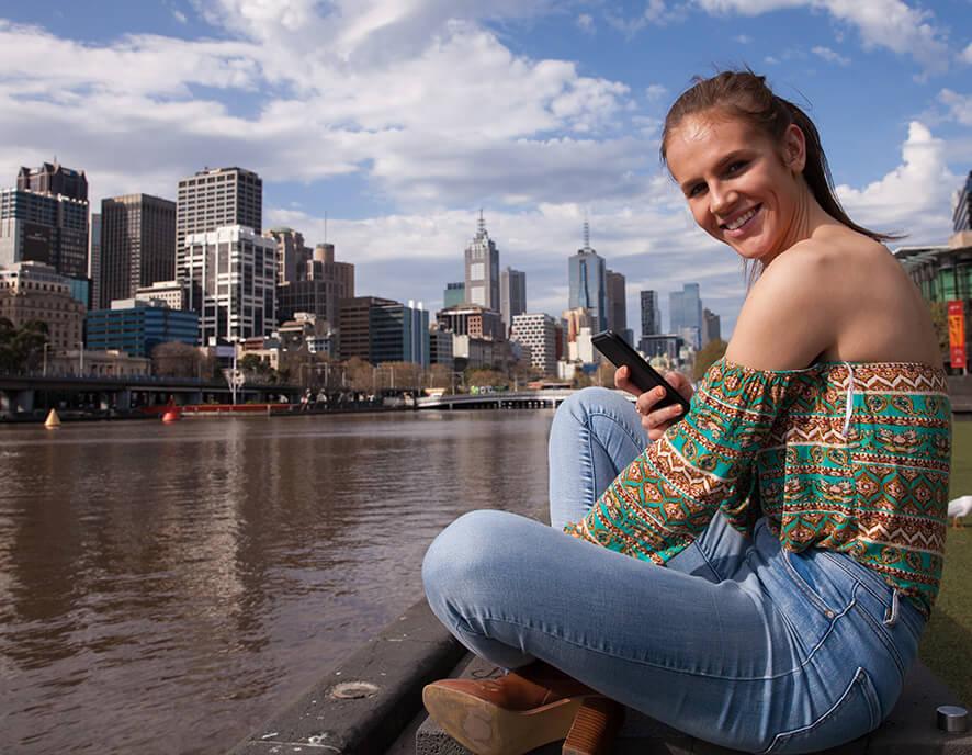 Chill in Melbourne