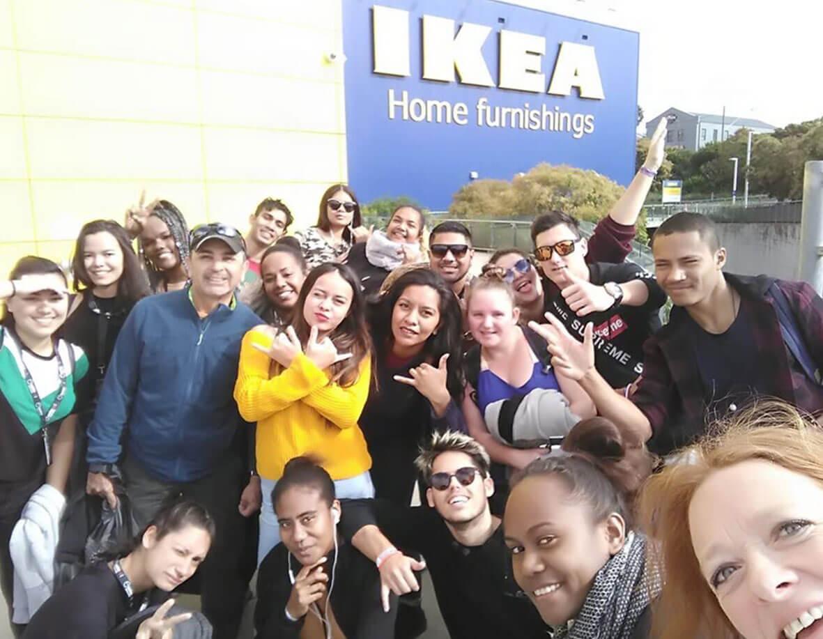 Study tour at Ikea